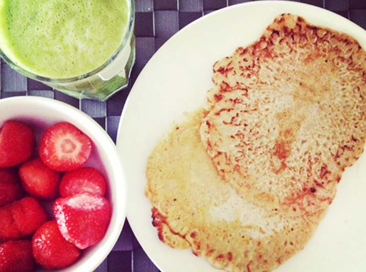 The most healthiest pancake