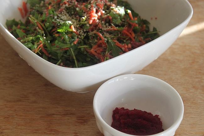 salad and beet