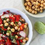 chickpeas salad