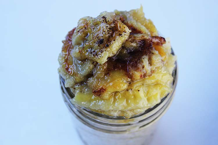 Quinoa Porridge with Caramelized Banana