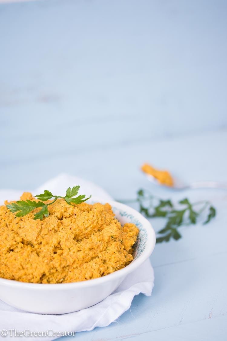 Carrot Cashew Paté