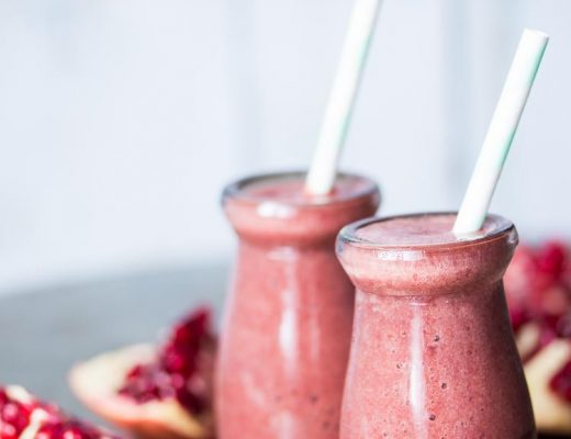 Pomegranate Love Smoothie