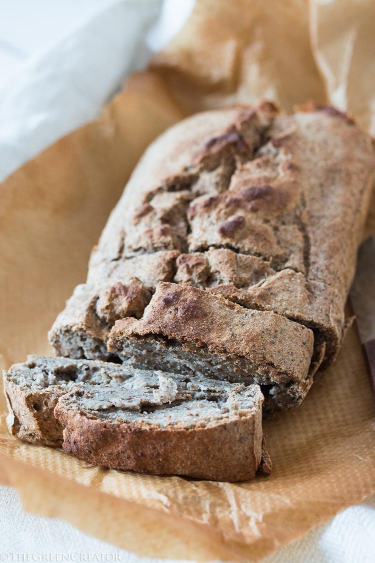 The Easiest Buckwheat Bread