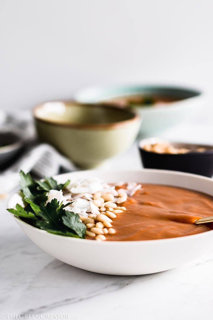 Sweet Potato Coconut Soup