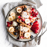 Easy Waffles   Vegan, Gluten-Free, Oil-Free