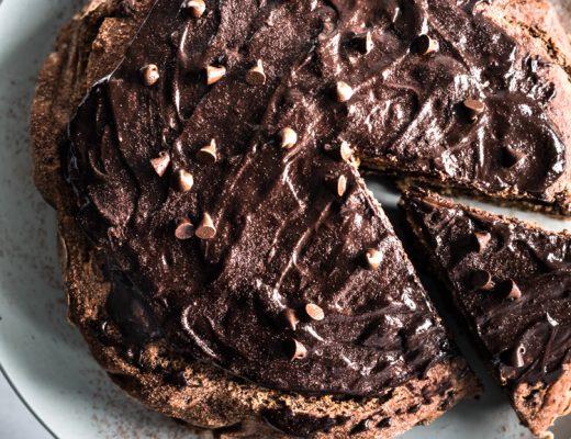 Vegan Chocolate Chip Banana Cake