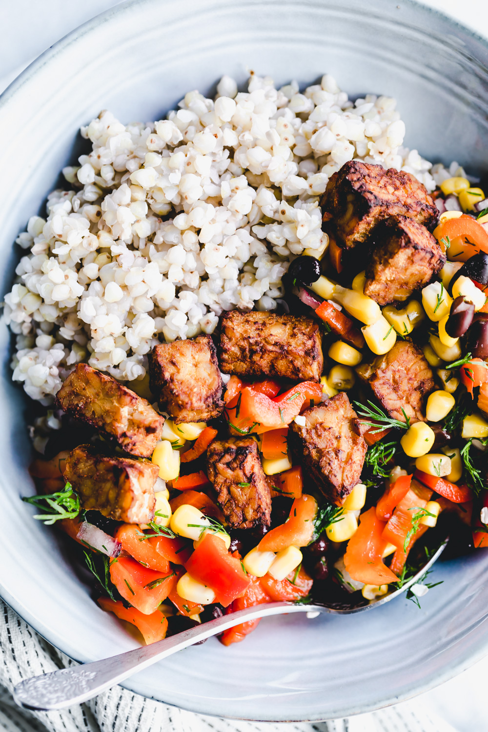 easy baked tempeh