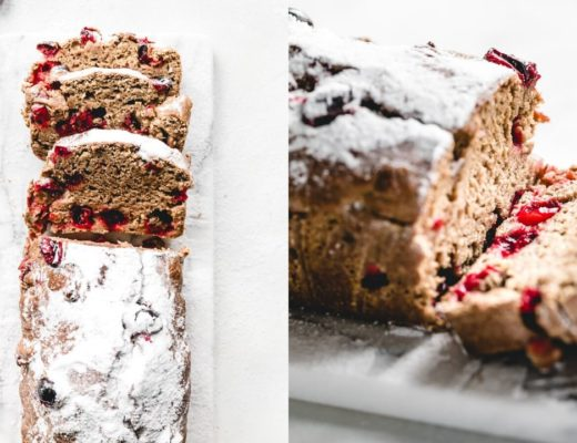 Cranberry Sinaasappel Brood (Vegan)
